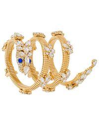 Giuseppe Zanotti - Embellished Spiral Bracelet - Lyst