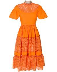Fendi - Daisy Flowers Dress - Lyst