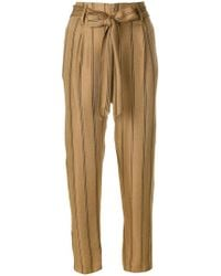 Forte Forte | Pinstriped Trousers | Lyst