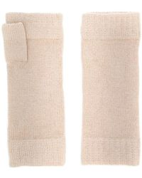 N.Peal Cashmere - Finger-less Knitted Gloves - Lyst