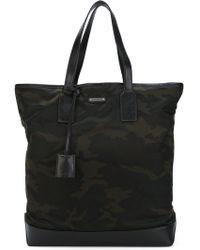 Saint Laurent - Camouflage Holdall Bag - Lyst