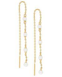 Astley Clarke - Calder Chain Earrings - Lyst