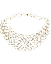 Melissa Joy Manning - Circle Link Collar Necklace - Lyst