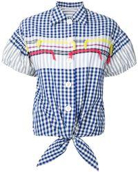 Tsumori Chisato - Checked Shirt - Lyst