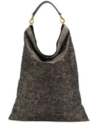 Mismo - Printed Shoulder Bag - Lyst