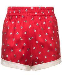 Morgan Lane - Daisy Bee Embroidery Chloe Shorts - Lyst