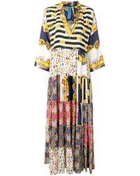 Rianna + Nina - Multi-pattern Dress - Lyst