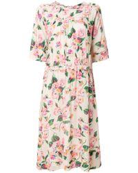 Bellerose - Floral Print Dress - Lyst