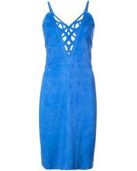 Jitrois - Laser-cut Neck Dress - Lyst