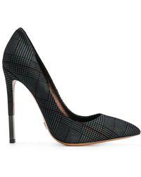 Gianni Renzi - Plaid Stiletto Court Shoes - Lyst