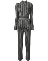 Antonino Valenti - Striped Fitted Jumpsuit - Lyst