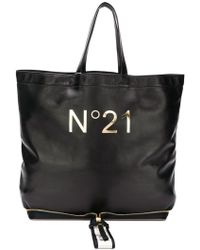 N°21 - N04119npo011 Nero Furs & Skins->leather - Lyst