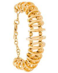 Alberta Ferretti - Bead And Hoop Bracelet - Lyst
