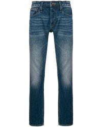 Denham - Mid Rise Slightly Washed Jeans - Lyst