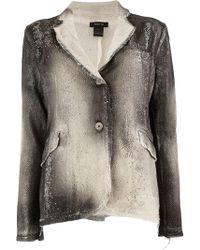 Avant Toi - Studded Mesh Jacket - Lyst