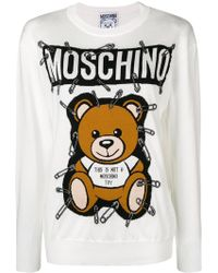 Moschino - Toy Bear Jumper - Lyst