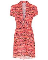 Amir Slama - Printed Short Dress - Lyst