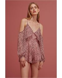 Keepsake | Morning Rain Playsuit | Lyst