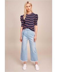 The Fifth Label - Kinetic Stripe Long Sleeve Top - Lyst