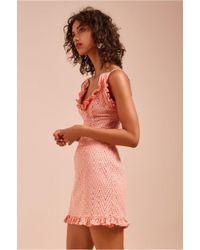 C/meo Collective - Runaways Short Sleeve Dress - Lyst
