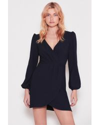 The Fifth Label - Chemistry Long Sleeve Wrap Dress - Lyst