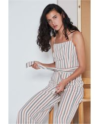 The Fifth Label - Axial Stripe Jumpsuit - Lyst