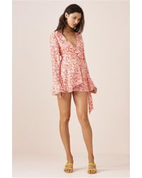 Finders Keepers - Faded Playsuit - Lyst