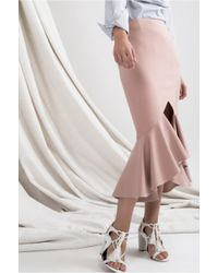 C/meo Collective - Metal Clouds Skirt - Lyst
