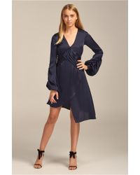 Keepsake - Dark Paradise Long Sleeve Dress - Lyst