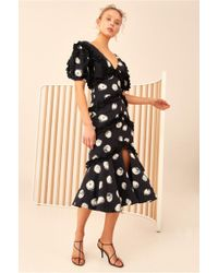 C/meo Collective - Thousand Times Midi Dress - Lyst