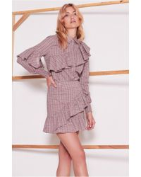 The Fifth Label - Collegiate Check Skirt - Lyst