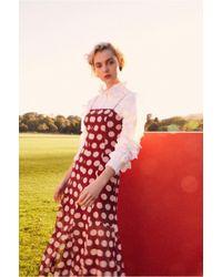 C/meo Collective - Unending Short Sleeve Midi Dress - Lyst