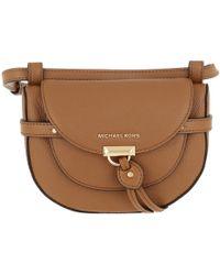 ad84a7f6b283 Michael Kors Flowers Sm Chain Shoulder Bag Leather Acorn - Lyst