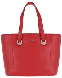 HUGO - Mayfair Sm Shopper Bright Red - Lyst