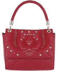 Guess - Alessia Top Handle Bag Flap - Lyst