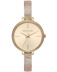 Michael Kors - Mk3784 Jaryn Ladies Metals Watch Gold - Lyst