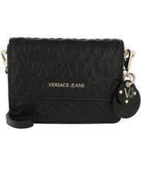Versace Jeans - Embossed Crossbody Bag Black - Lyst