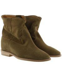 432e2a6835d3 Étoile Isabel Marant - Crisi 40 Hill Boots Suede Brown - Lyst
