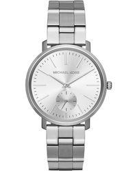 Michael Kors - Ladies Jaryn Watch Silver - Lyst