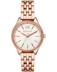 Michael Kors - Mk6641 Lexington Watch Roségold - Lyst