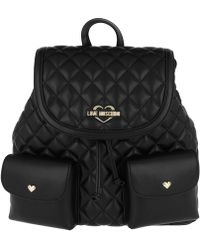 Love Moschino | Quilted Nappa Backpack 2 Oro/nero | Lyst