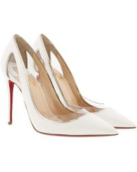 Christian Louboutin - Cosmo 554 Patent Leather Court Shoes - Lyst