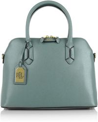 Pink Pony - Dome Satchel Cameo Blue/cocoa - Lyst