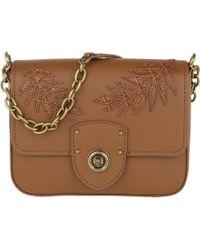 Lauren by Ralph Lauren - Millbrook Chain Crossbody Bag Small Field Brown - Lyst