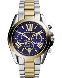 Michael Kors - Mk5976 Bradshaw Ladies Watch Silver/gold - Lyst