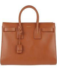 Saint Laurent - Classic Sac De Jour Bag Small Orange - Lyst