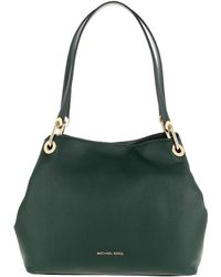 1587e2fc070a9 Michael Kors - Raven Lg Shoulder Tote Racing Green - Lyst