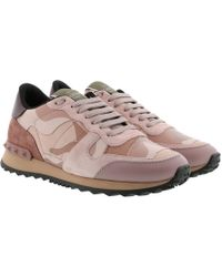 Valentino - Camouflage Trainers Pink - Lyst
