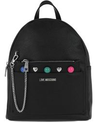 Love Moschino | Backpack Coloured Studs Nero | Lyst