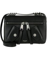 Moschino   Crossbody Bag Zipper Nero   Lyst